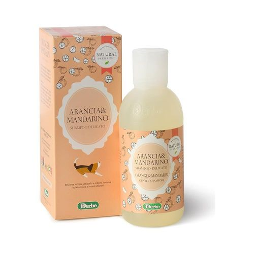 Natural derma pet arancia e mandarino