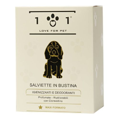 Love for pet salviette in bustina